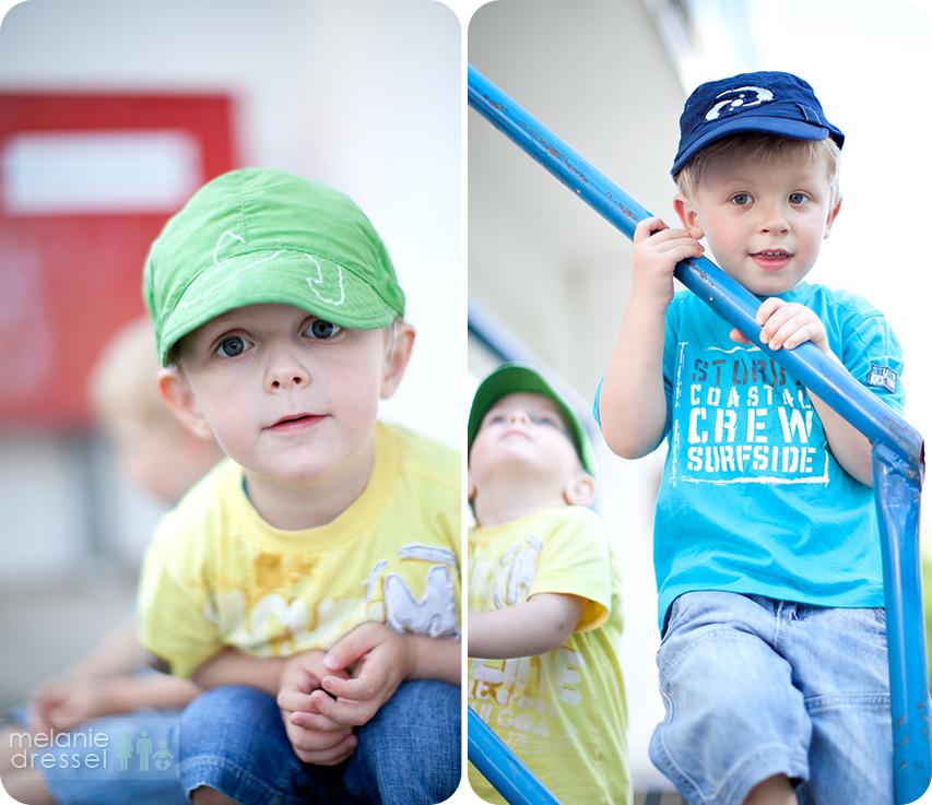 Portraits von Jungen im Sonnenhof Gera
