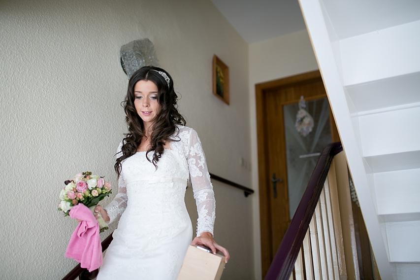 Hochzeitsvorbereitungen Braut