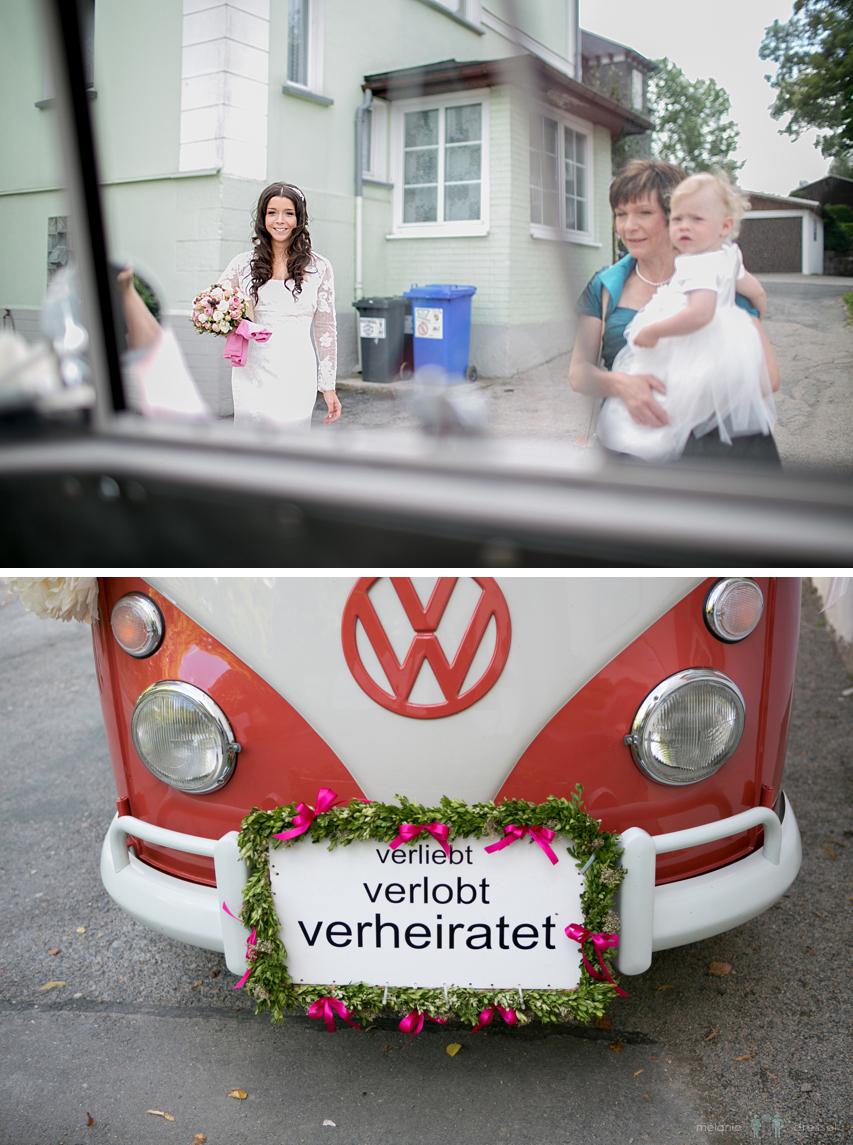 Hochzeit VW Bulli Thüringen
