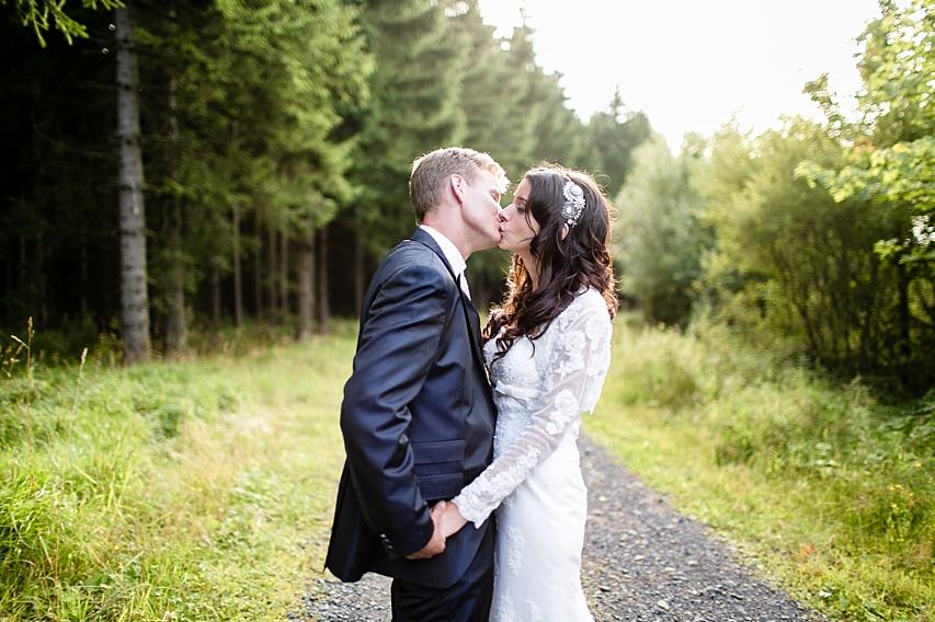 Hochzeitsfotografie Wald