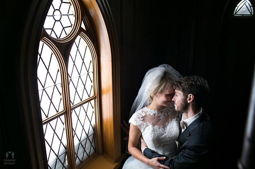 Brautpaar Portraits Kirche