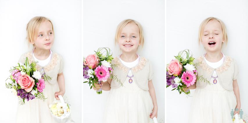 Blumenmädchen Kleid