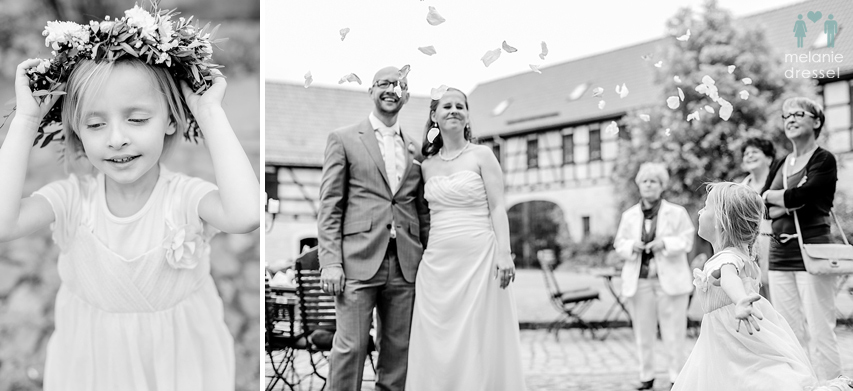 Hochzeit in Positz