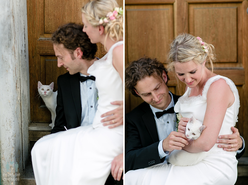 Brautpaar mit Katze, Erfurt