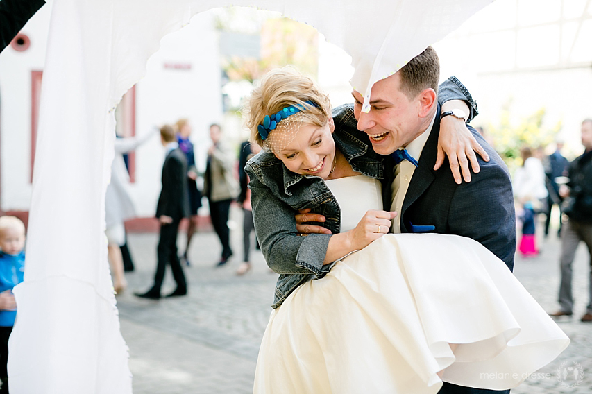 Spiel nach der Trauung im Hochzeitshaus Erfurt