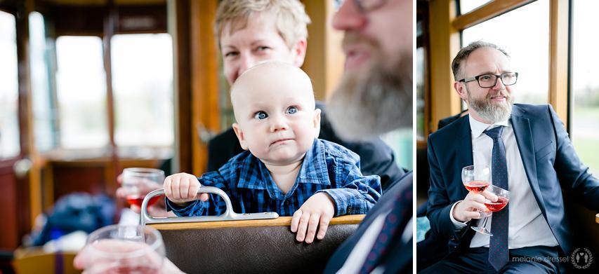 Baby bei Stadtrundfahrt durch Erfurt, fotografiert von Melanie Dressel