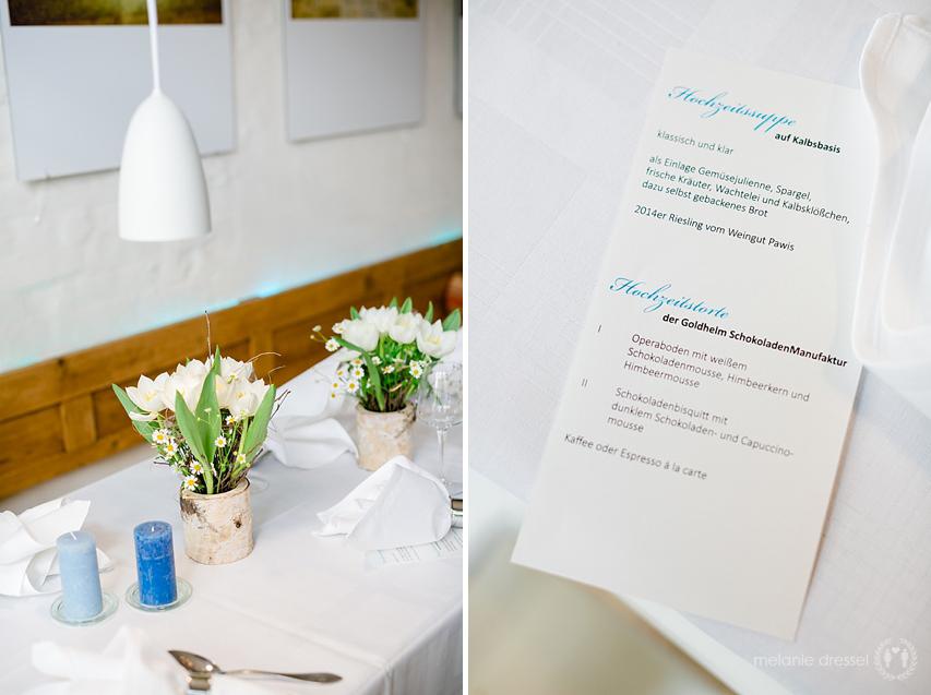 Hochzeitsfeier Brasserie Ballenberger Erfurt