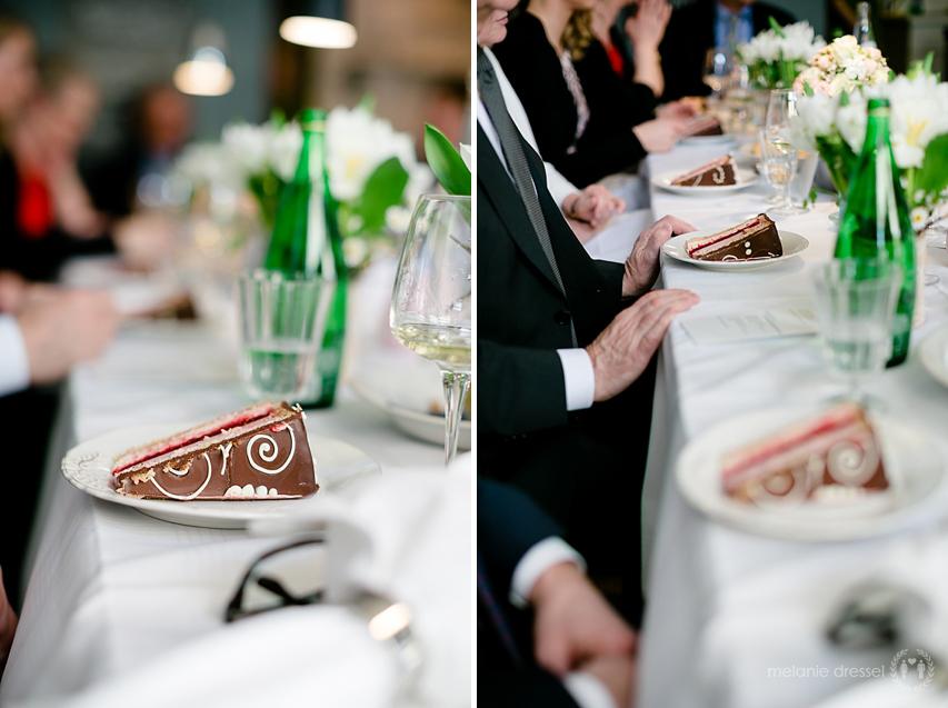Hochzeitstorte in der Erfurter Brasserie Ballenberger