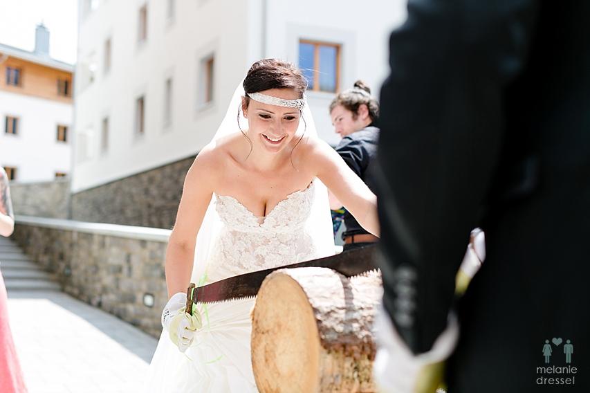 Hochzeitsfeier Lenzerheide
