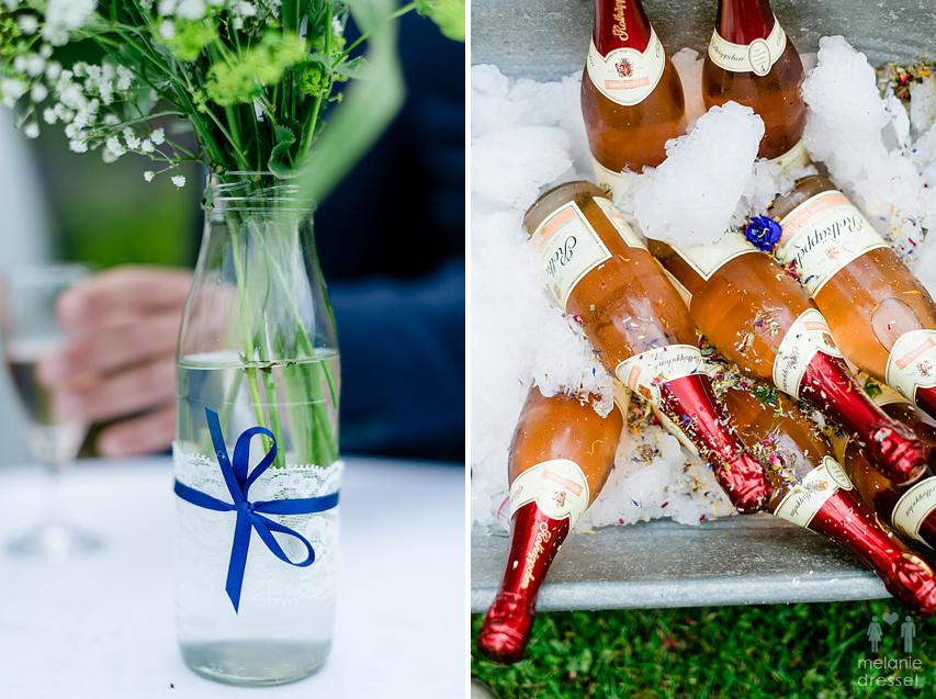 Details Hochzeitsfeier