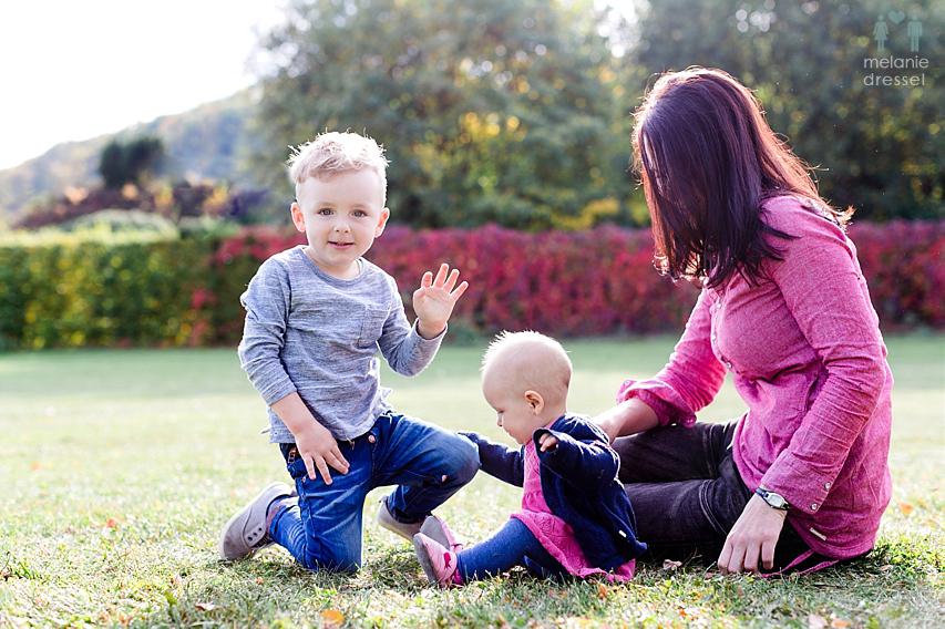Herbstfotos Familie