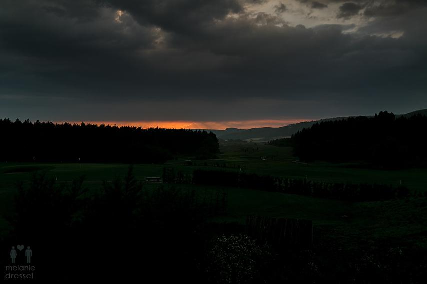 Sonnenuntergang Blankenhain