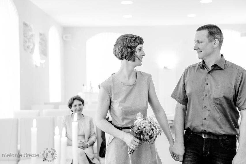 Brautpaar im Standesamt