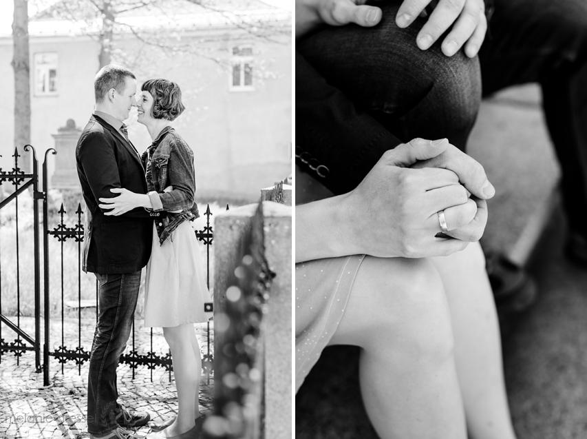 Hochzeitsfotos schwarz weiss