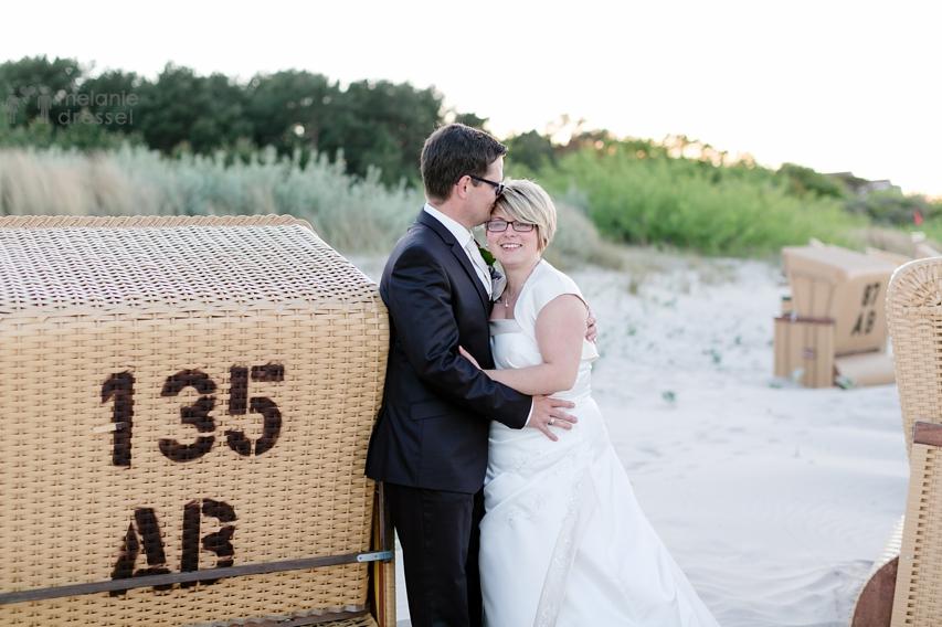 Hochzeitsportraits Strand