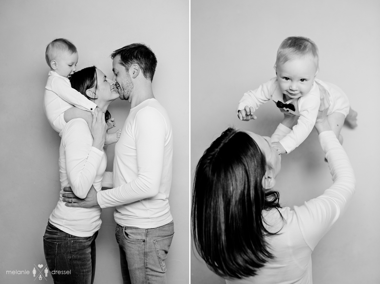 Familienfotografie im Studio in Thürigen