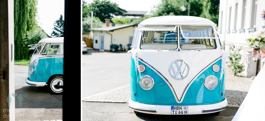Bulli Hochzeitsauto Jena