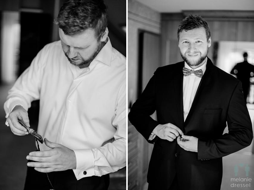 Hochzeitsfotografie Bräutigam
