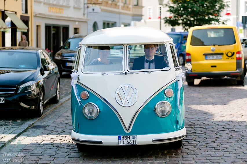 Hochzeitsauto VW T1