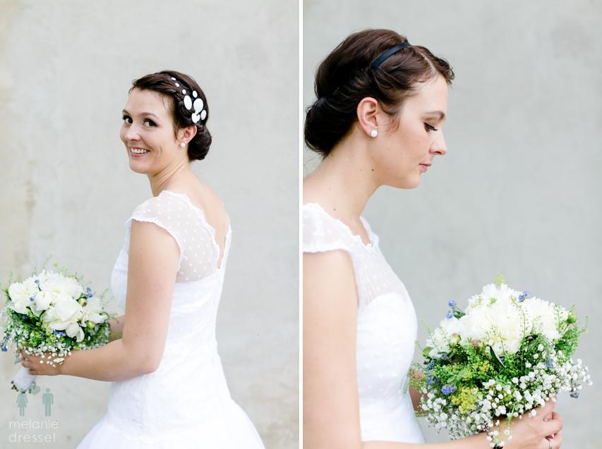 Hochzeitsportraits Braut Thüringen