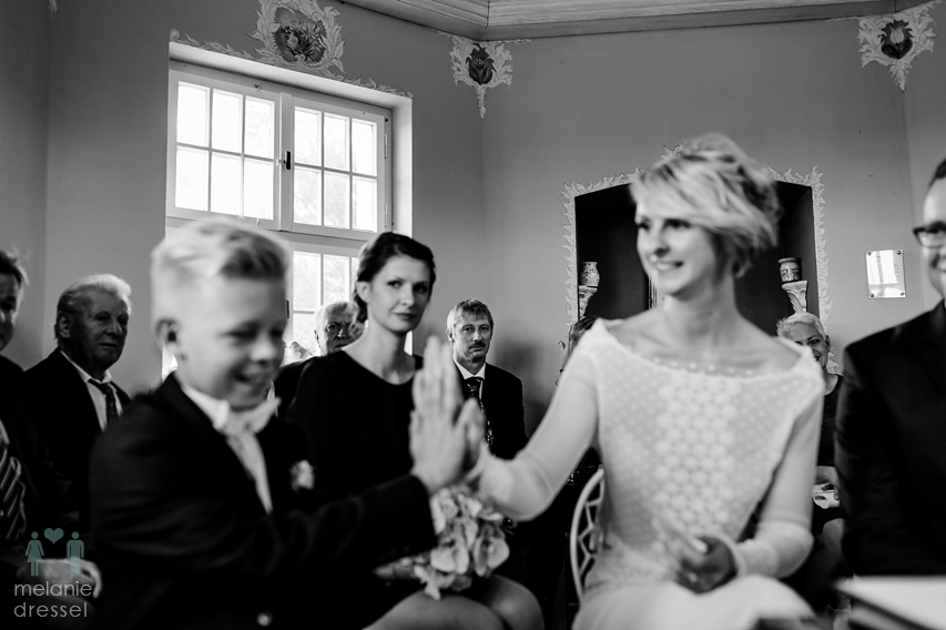 High Five Hochzeit