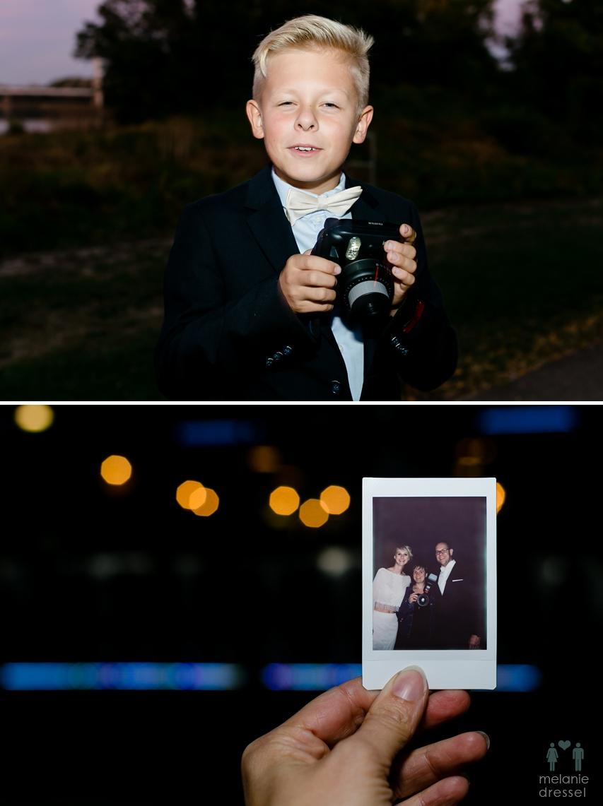Hochzeitsfotografie Polaroid