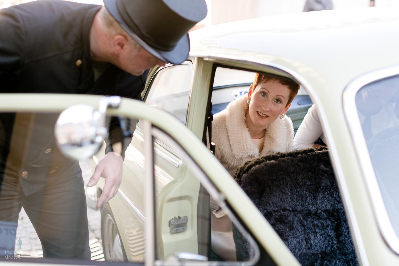 Braut vor der Trauung in Gera
