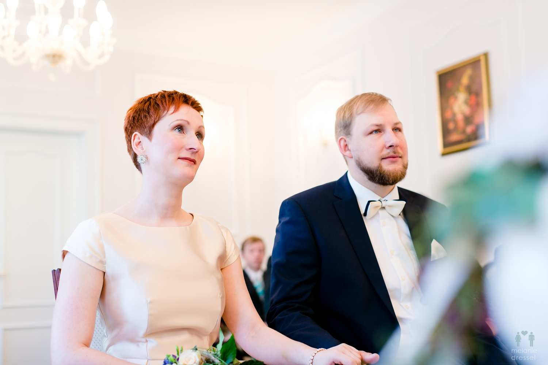 Brautpaar im Standesamt Gera