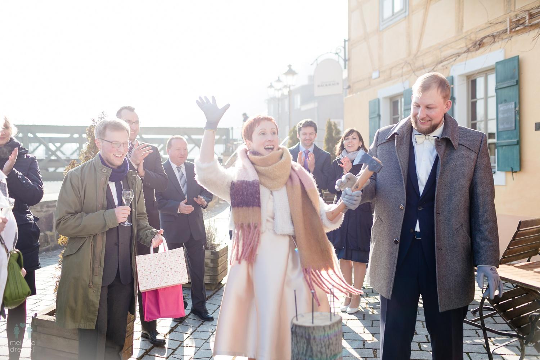Hochzeitsgesellschaft in Gera Untermhaus
