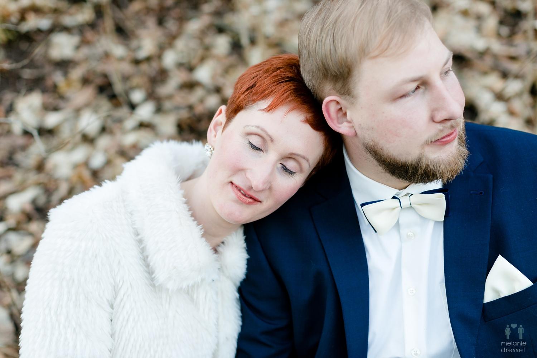 Evelyn und Karl an Ihrem Hochzeitstag in Gera