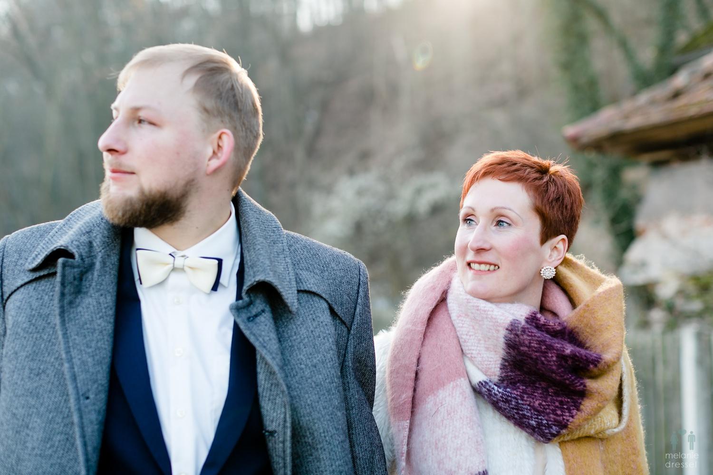 Evelyn und Karl feiern ihre Hochzeit in Gera Untermhaus, fotografiert von Melanie Dressel