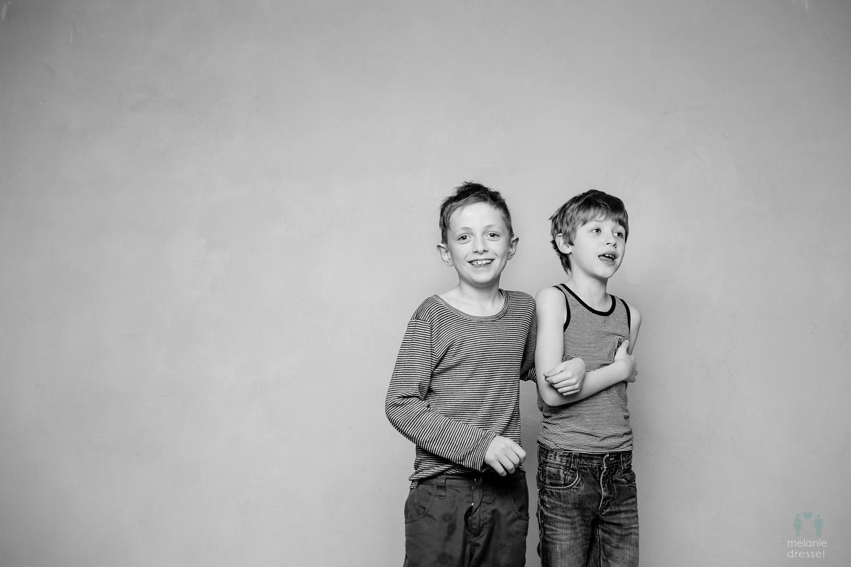 s/w Fotografie Kinder