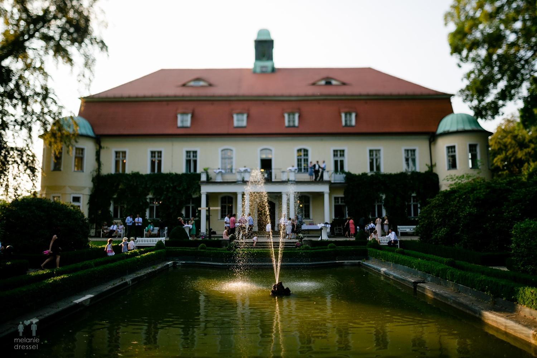 Hochzeitsgesellschaft auf der Schweinsburg in Neukirchen