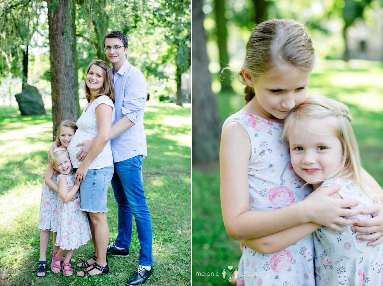 Familienfotografie Schwangerschaft