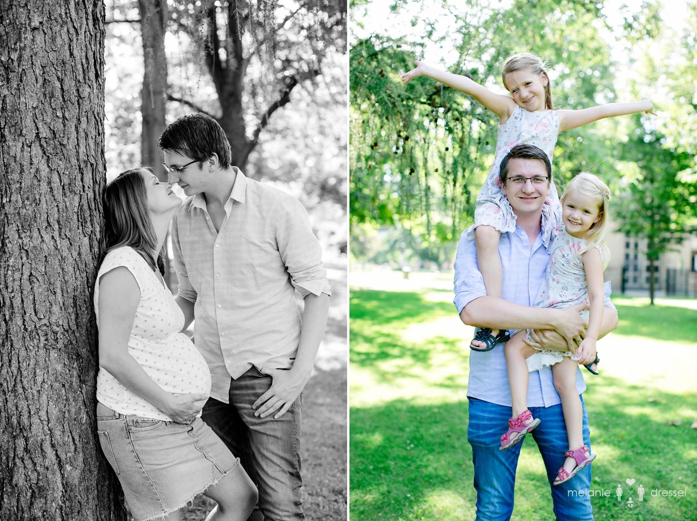 Familienfotografie Papa mit Kindern
