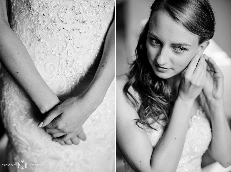 Braut legt bei Hochzeit in Thüringen Schmuck an