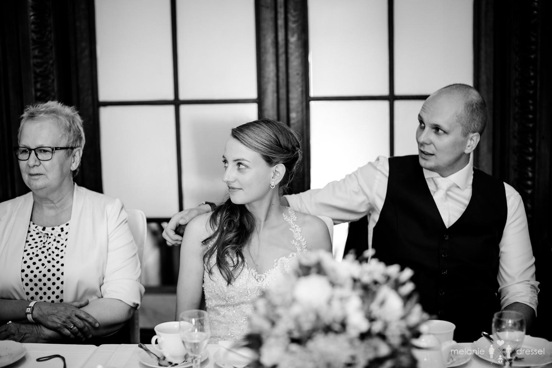 Braut und Bräutigam in der Villa Altenburg