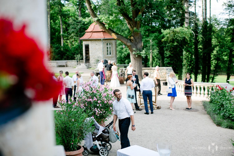 Blick über das Gelände der Villa Altenburg