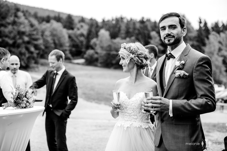 Sektempfang Hochzeitsfotograf