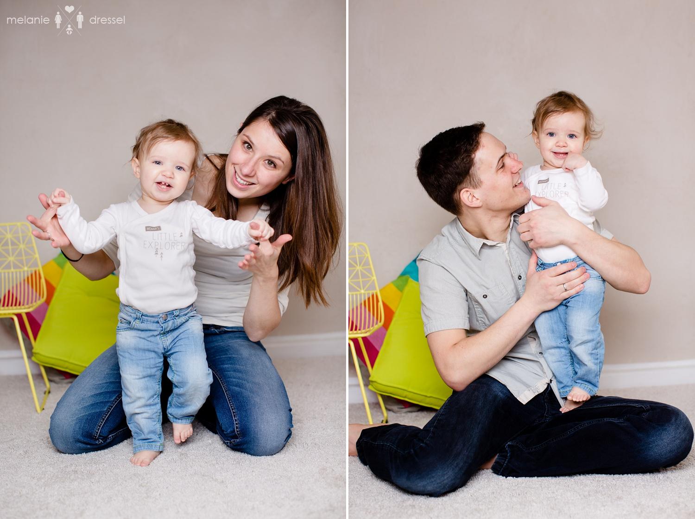 Familienfotografie mit Kleinkind
