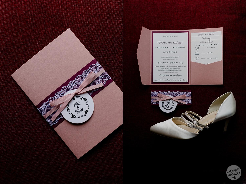 Hochzeitspapeterie in Quedlinburg - Hochzeitsfotografin Melanie Dressel