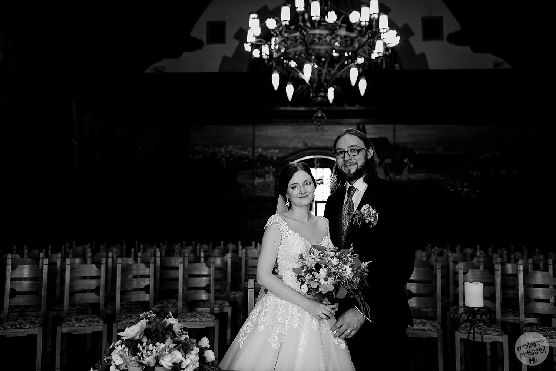 Brautpaar im Trausaal Standesamt Quedlinburg - Hochzeitsfotografin Melanie Dressel