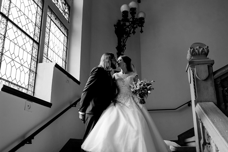 Ehepaar in Standesamt Quedlinburg - Hochzeitsfotografin Melanie Dressel