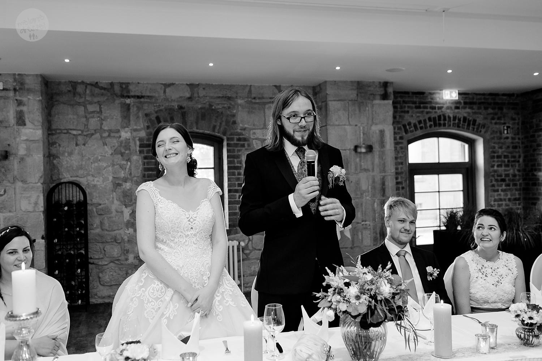 Hochzeitsfeier in Schlossmühle Quedlinburg - Hochzeitsfotografin Melanie Dressel