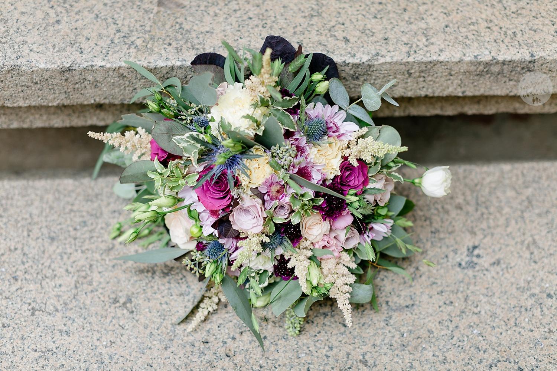 Brautstrauss in Quedlinburg - Hochzeitsfotografin Melanie Dressel