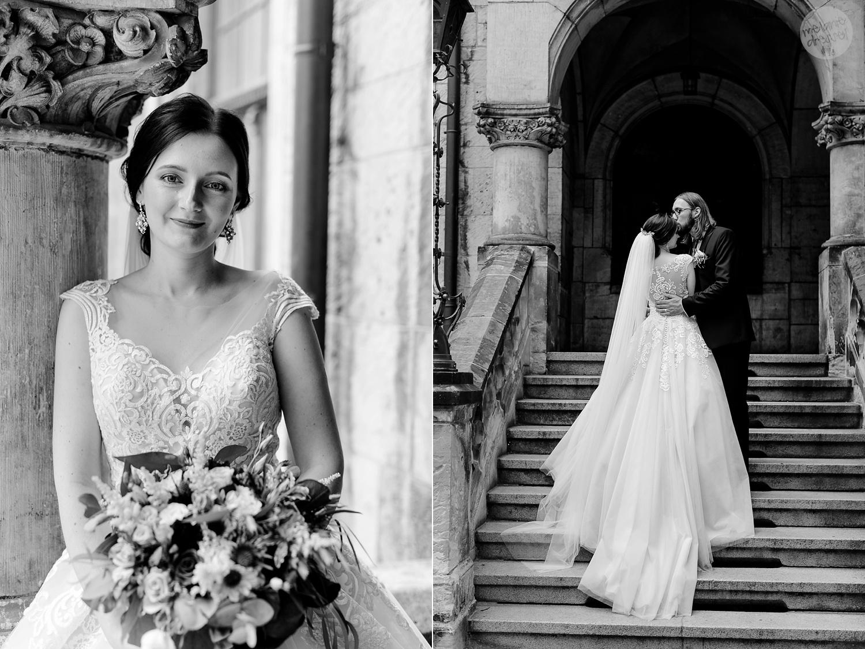 Brautpaar am Standesamt Quedlinburg - Hochzeitsfotografin Melanie Dressel