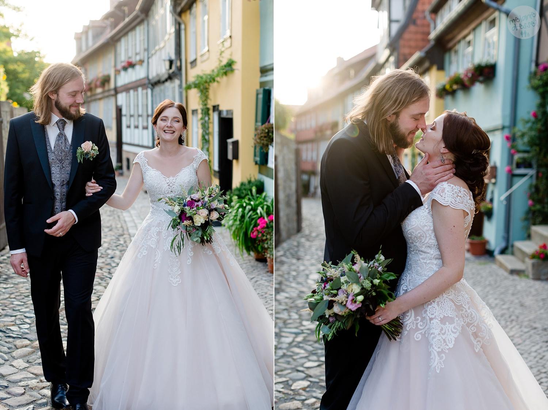 Hochzeit in Quedlinburg Ansicht Schloss Quedlinburg - Hochzeitsfotograf Melanie Dressel