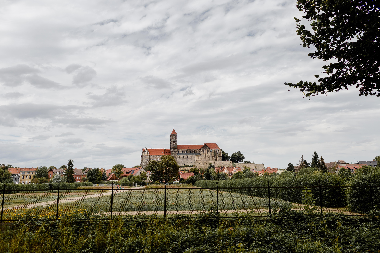 Ansicht Schloss Quedlinburg - Hochzeitsfotograf Melanie Dressel